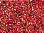 Toho Seed Bead Mix - Momiji - Red Mix - 6/0 8/0 11/0 #3208