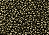 6/0 Toho Japanese Seed Beads - Gold Lustered Dark Chocolate Bronze Metallic #422