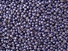 6/0 Toho Japanese Seed Beads - PermaFinish Purple Metallic #PF567
