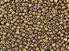 6/0 Toho Japanese Seed Beads - Hybrid Luster Gold Smoky Topaz Rose and Green #Y185