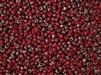 6/0 Toho Japanese Seed Beads - Hybrid Frosted Matte Red Pepper Apollo #Y854F