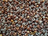 6/0 Toho Japanese Seed Beads - Hybrid Frosted Opal Apollo #Y858F