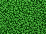 8/0 Toho Japanese Seed Beads - Bright Green Opaque #47