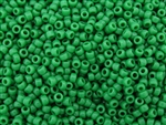 8/0 Toho Japanese Seed Beads - Shamrock Green Opaque #47D