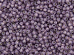 8/0 Toho Japanese Seed Beads - Permanent Finish Lavender Opal Silver Lined #PF2108