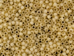 8/0 Toho Japanese Seed Beads - Permanent Finish Peach Opal Silver Lined #PF2110