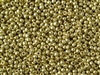 8/0 Toho Japanese Seed Beads - PermaFinish Yellow Gold Metallic #PF559