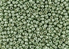 8/0 Toho Japanese Seed Beads - PermaFinish Lime Green Metallic #PF560
