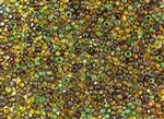 8/0 Toho Japanese Seed Beads - Hybrid Transparent Picasso Mix