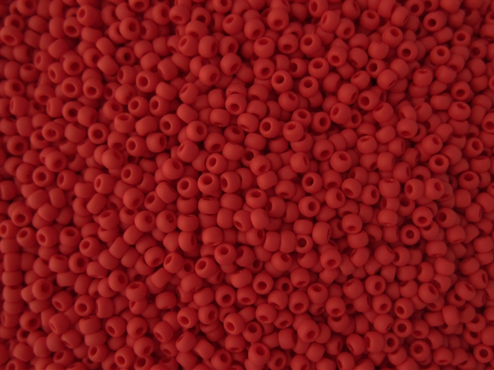 brown Toho Seed Bead TR-11-45 burnt red dark red Opaque PEPPER RED red 110  #45