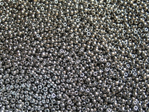 11/0 Toho Japanese Seed Beads - Nickel Plated Silver Metallic #711