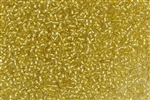 11/0 Toho Japanese Seed Beads - Champagne Silver Lined #2151S