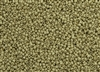 11/0 Toho Japanese Seed Beads - PermaFinish Yellow Gold Metallic Matte #PF559F