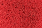 15/0 Toho Japanese Seed Beads - Lt. Siam Ruby Transparent Matte #5F