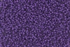 15/0 Toho Japanese Seed Beads - Purple Lined Amethyst Matte #928F