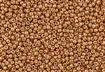 15/0 Toho Japanese Seed Beads - PermaFinish Copper Metallic #PF551D