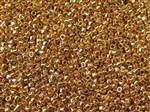 Toho Treasures Cylinder Beads - 24K Gold Plated Metallic #712