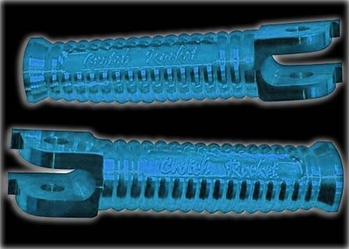 Blue Rear Foot Peg Suzuki Hayabusa