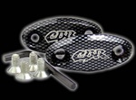 cbr mirror block off carbon
