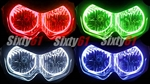 Kawasaki EX650R Halo Headlight Lighting Kit