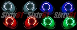 Kawasaki ZX6R Headlight Angel Eye Halo Kit