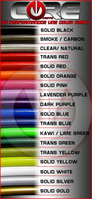 Core Moto Brake Lines for Suzuki GSXR 1000 Brake Lines 2005 2006 Front /& Rear Red Custom Braided Stainless Steel by Sixty61