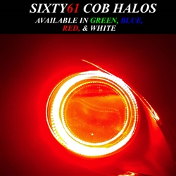 Honda VTX1800 COB Plasma Halos Single KIT