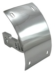 Chrome Suzuki Swingarm Tag Bracket for GSXR 1300 Hayabusa, 1000, 750, 600 - Sixty61