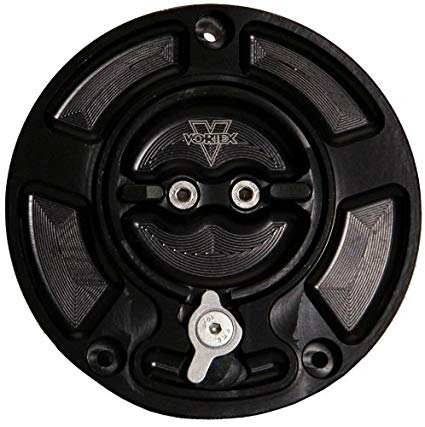 Vortex Black Fuel Gas Cap Yamaha Sixty61