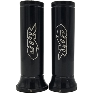 honda cbr engraved black grips