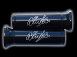 ninja engraved black grips