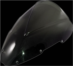 f4i 01-06 double bubble dark windscreen