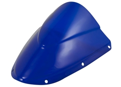 Kawasaki ZX636 ZX6R ZX10R ZX1000 Double Bubble Windscreen Blue 2005 2006 2007 Sixty61
