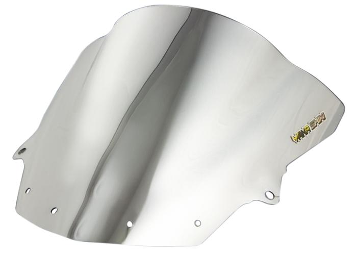New Chrome Duble Bubble Windshield Windscreen For Kawasaki Ninja ZX6R 2009-2014