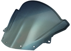 Kawasaki ZX6R ZX1000 ZX10R Smoked Double Bubble Windscreen 2009-2014 2015 2016 Sixty61