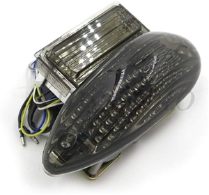 hayabusa 99-07 smoke tail light