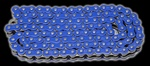 blue o-ring motorcycle chains