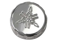 yamaha rear brake reservoir cap chrome
