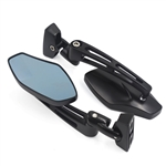 black billet roaring toyz mirrors