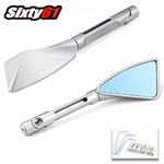 rizoma tomok mirrors silver polished sixty61