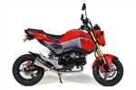 Honda Grom 2017 2018 2019 Polished Exhaust Brocks Sixty61
