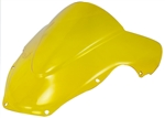 Suzuki GSXR 600 750 1000 Double Bubble Windscreen Yellow Sixty61