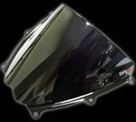 gsxr1000 07-08 double bubble smoke windscreen