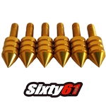 universal windscreen fairing bolts gold