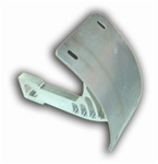 POLISHED KAWASAKI SWINGARM TAG BRACKET | ZX 6/7/9/12/14