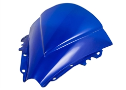 Yamaha YZF R6R Blue Double Bubble Windscreen 2006-2007 Sixty61 Windshield