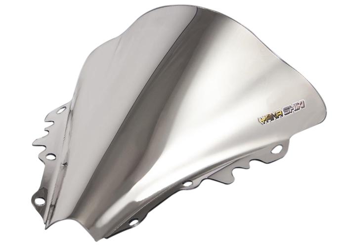 06-07 R6 LP Mirrored Chrome V2 Double Bubble Windshield Windscreen 101-WS7206CR