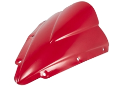 Yamaha YZF R1 Red Double Bubble Windscreen 2004 2005 2006 Sixty61 Windshield