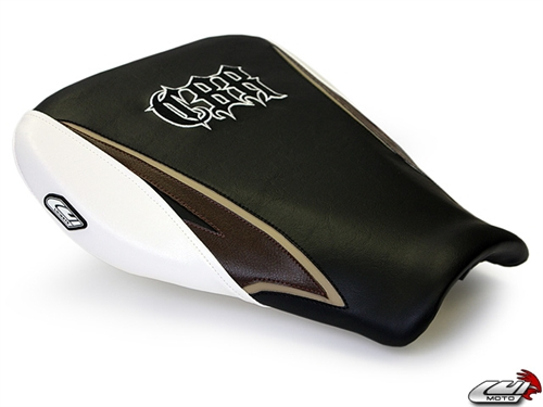 Luimoto Seat Cover for Honda CBR600RR 2007-2019 Black by Sixty61 CBR 600RR