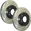 StopTech Front Rotors: MS6